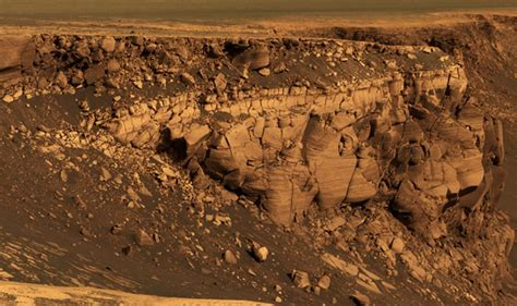 Geological Features Of Mars   The Fedora Chronicles
