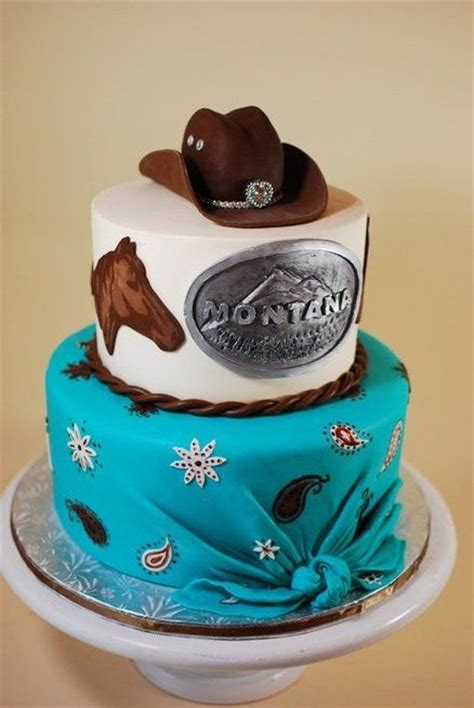 331 best images about WESTERN AND RODEO CAKES on Pinterest