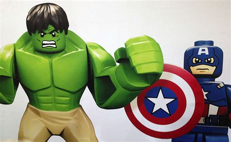 Lego 'Lord of the Rings,' 'The Avengers,' Universal