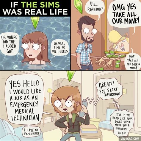 If The Sims Was Real Life | Umor