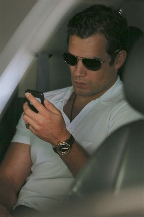 Henry Cavill arrives in LA as Lex Luthor casting rumours